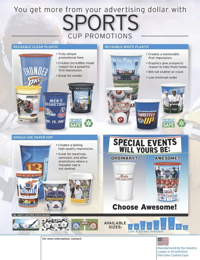 Sports Cups
